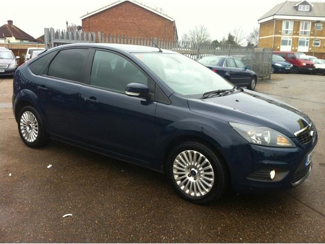used ford focus 2009 blue colour diesel 1 6 tdci titanium 5 door hatchback for sale in ashford. Black Bedroom Furniture Sets. Home Design Ideas