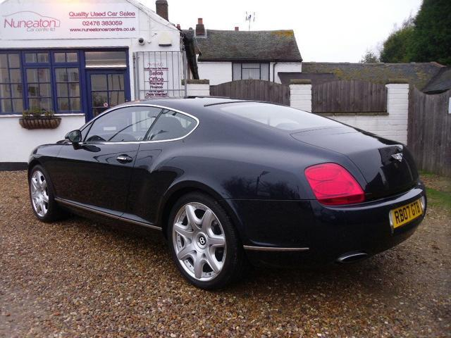 Used Bentley Continental Car 2007 Blue Petrol 6 0 W12
