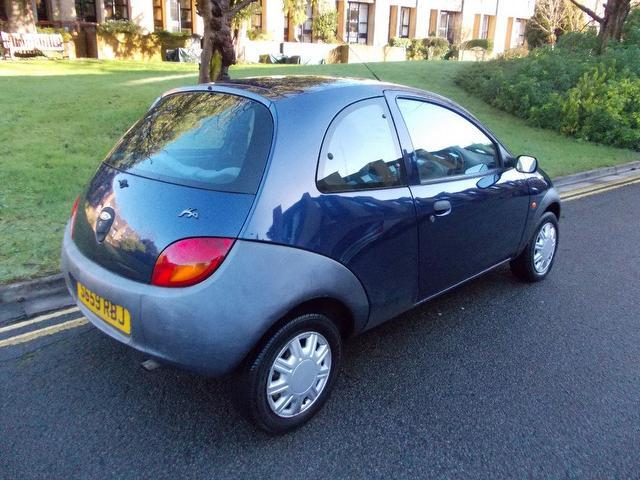 used ford ka 2000 manual petrol 2 3 door blue for sale uk autopazar. Black Bedroom Furniture Sets. Home Design Ideas