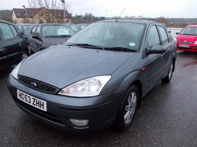 used ford focus 2003 grey paint petrol 1 8 ghia 4dr saloon for sale rh autopazar co uk ford focus 2003 manual transmission ford focus 2003 manual pdf