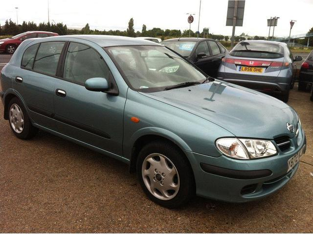 used nissan almera 2001 petrol 1 5 se 5dr hatchback grey for sale in ashford uk autopazar. Black Bedroom Furniture Sets. Home Design Ideas