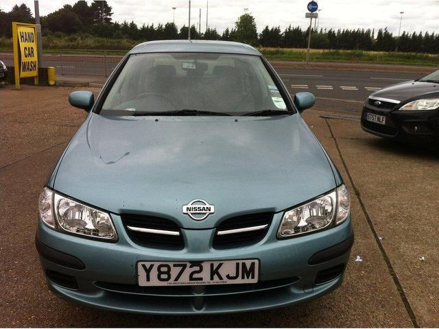 used nissan almera 2001 petrol 1 5 se 5dr hatchback grey. Black Bedroom Furniture Sets. Home Design Ideas