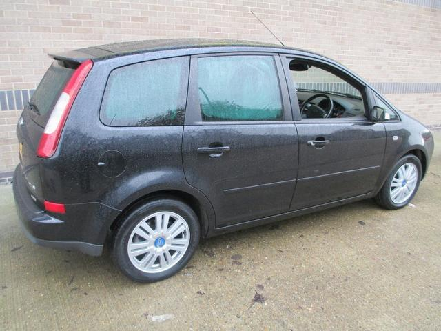 used ford focus 2005 black colour diesel c max 2 0 tdci ghia estate for sale in norwich uk. Black Bedroom Furniture Sets. Home Design Ideas