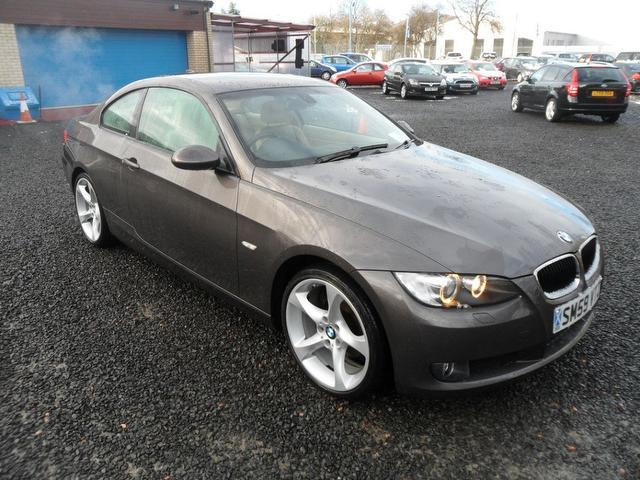 used bmw 3 series car 2009 brown petrol 320i se highline coupe for rh autopazar co uk