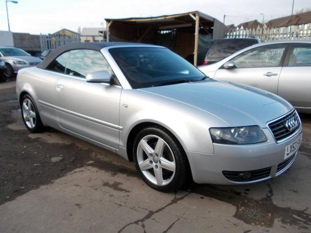 Used Silver Audi A4 2003 Petrol 2 4 Sport 6 2dr