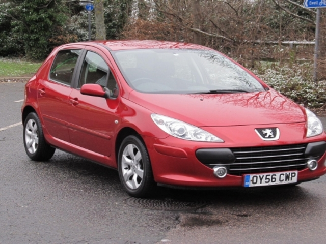 used peugeot 307 car 2006 red petrol for sale in epsom uk autopazar. Black Bedroom Furniture Sets. Home Design Ideas