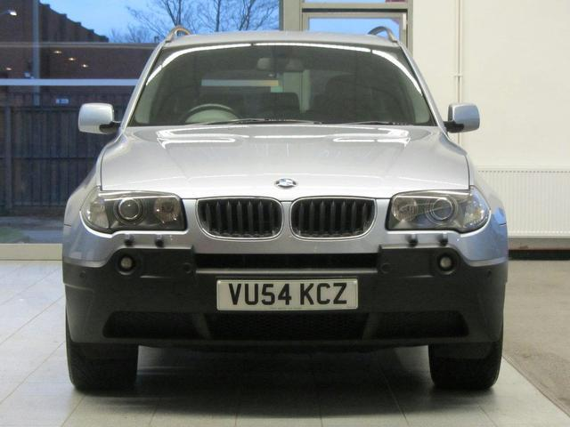 used bmw x3 2004 petrol se 5dr auto 4x4 blue edition. Black Bedroom Furniture Sets. Home Design Ideas