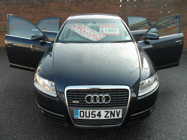 Used Cars For Sale Under 6000 >> Used Audi A6 2004 Diesel 3.0 Tdi Quattro Se Saloon Blue With Trip Computer For Sale - Autopazar