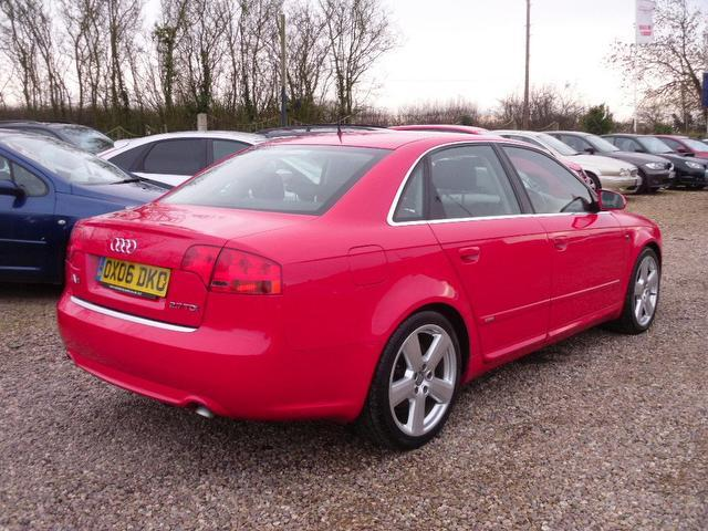 used 2006 audi a4 saloon 2 7 tdi s line diesel for sale in. Black Bedroom Furniture Sets. Home Design Ideas