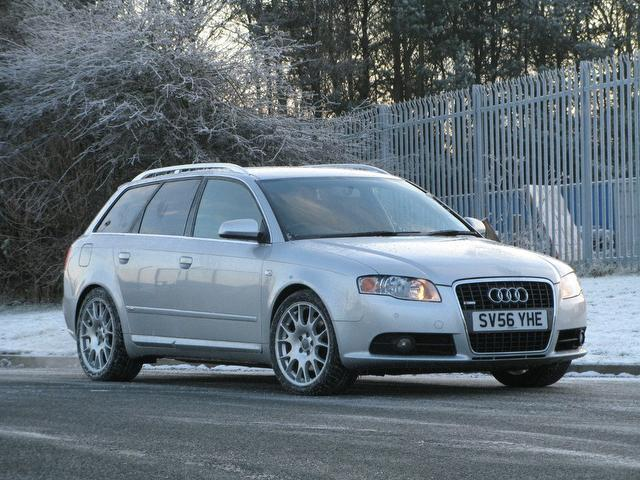 used audi a4 car 2006 silver petrol fsi s line estate. Black Bedroom Furniture Sets. Home Design Ideas