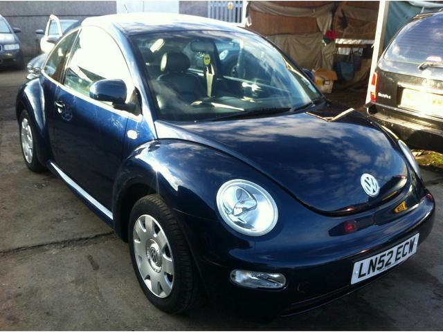 used volkswagen beetle 2002 model 1 6 3dr petrol hatchback blue for sale in wembley uk autopazar. Black Bedroom Furniture Sets. Home Design Ideas