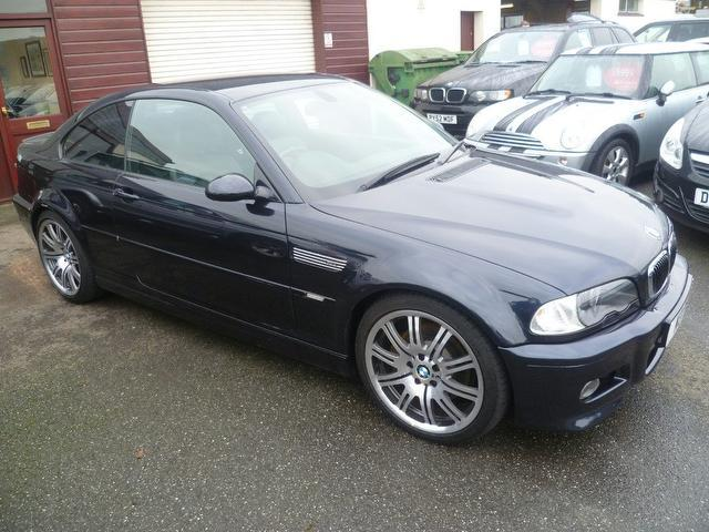 Used Bmw M3 2004 Black Coupe Petrol Manual for Sale
