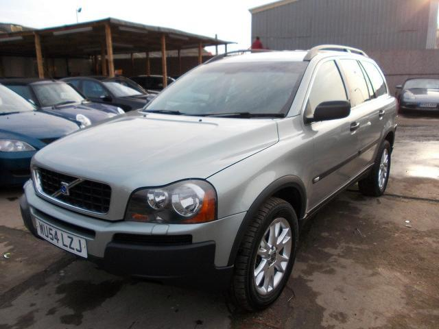 used 2004 volvo xc90 4x4 green edition 2 9 t6 se 5dr petrol for sale in wembley uk autopazar. Black Bedroom Furniture Sets. Home Design Ideas