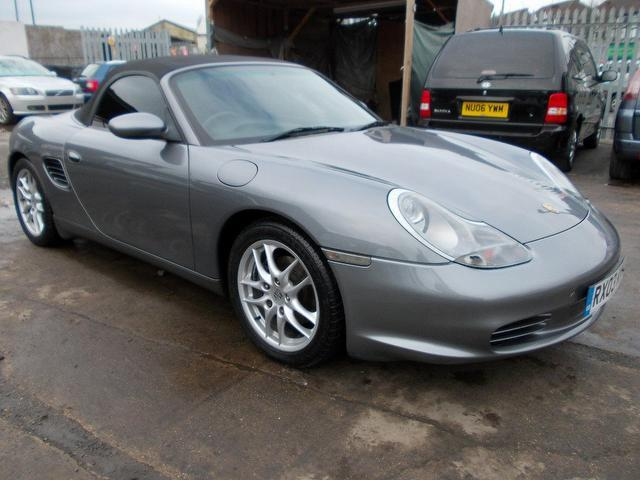 Used Porsche Boxster 2003 Grey Convertible Petrol Manual for Sale