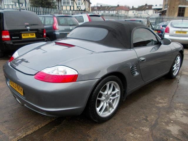 used porsche boxster 2003 petrol 2 7 228 2dr convertible grey edition for sale in wembley uk. Black Bedroom Furniture Sets. Home Design Ideas
