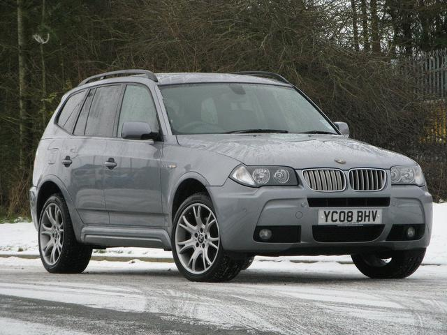 used grey bmw x3 2008 diesel m sport 5dr 4x4 excellent condition for sale autopazar. Black Bedroom Furniture Sets. Home Design Ideas
