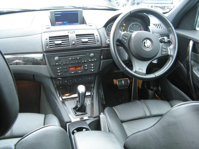 Used Grey Bmw X3 2008 Diesel 30sd M Sport 5dr 4x4 Excellent