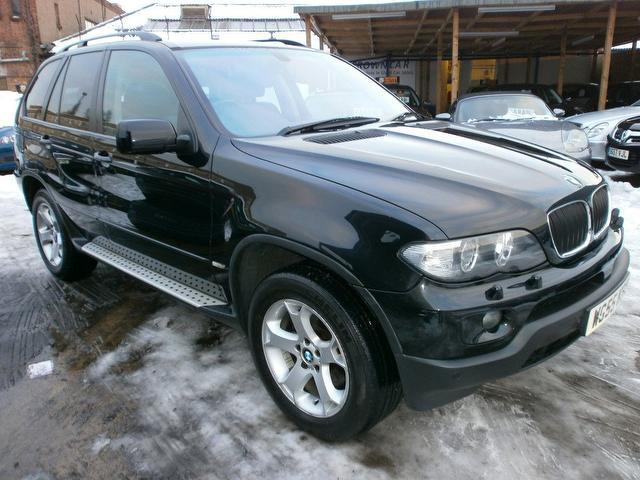 used bmw x5 car 2005 black diesel se 5 door auto 4x4. Black Bedroom Furniture Sets. Home Design Ideas