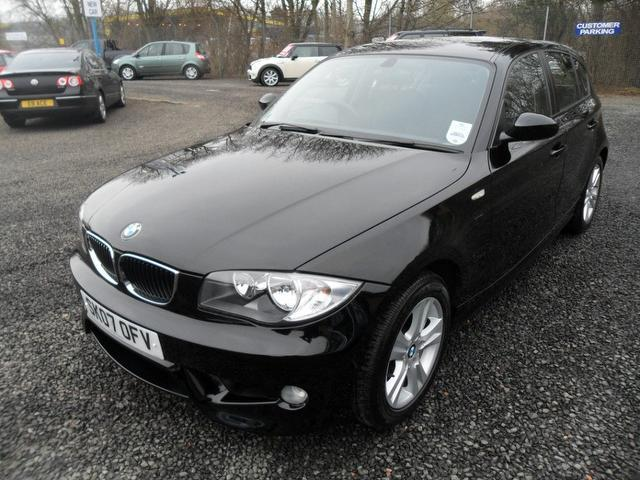 used 2007 bmw 1 series hatchback 116i se 5dr petrol for sale in inveralmond place uk autopazar. Black Bedroom Furniture Sets. Home Design Ideas