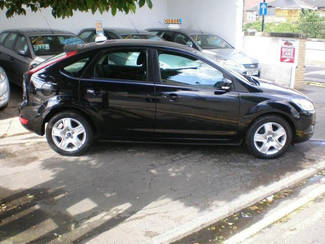 used ford focus 16 tdci style 5 door black 2009 for sale in uk - Ford Focus 2009 Black