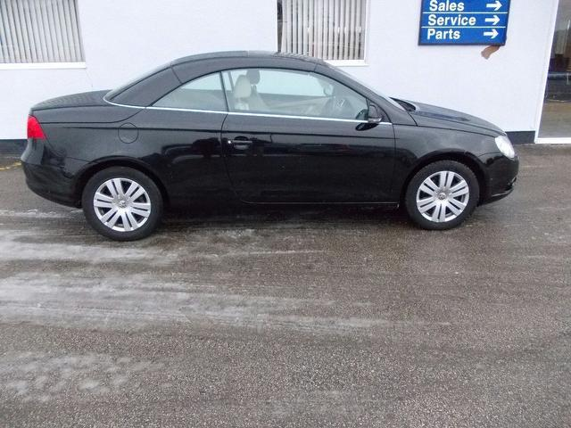 used volkswagen eos 2008 petrol 16 fsi 2dr convertible