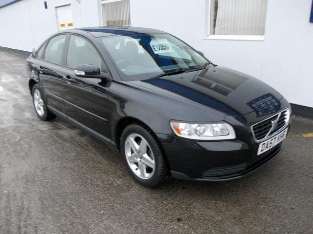 Used Volvo S40 2008 Petrol 1.8 S 4dr Saloon Black Edition For Sale In Wirral Uk - Autopazar