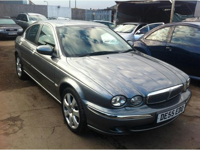 used jaguar x type 2005 model se 4dr euro diesel. Black Bedroom Furniture Sets. Home Design Ideas
