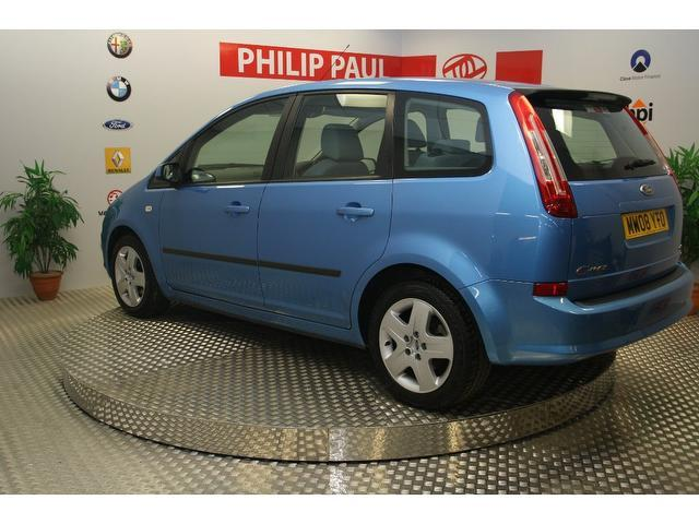 used ford c max 2008 model 1 6 style 5dr petrol estate blue for sale in oswestry uk autopazar. Black Bedroom Furniture Sets. Home Design Ideas
