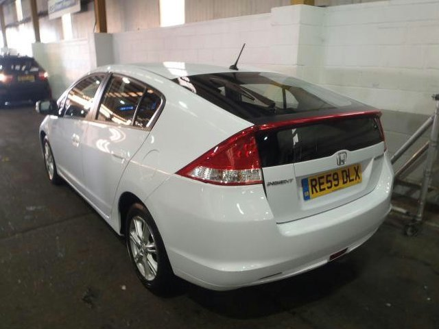 used honda insight 2009 automatic hybrid 1 3 ima se white for sale uk autopazar. Black Bedroom Furniture Sets. Home Design Ideas