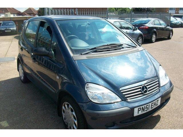 used mercedes a class 2001 a140l classic 5dr blue for sale. Black Bedroom Furniture Sets. Home Design Ideas