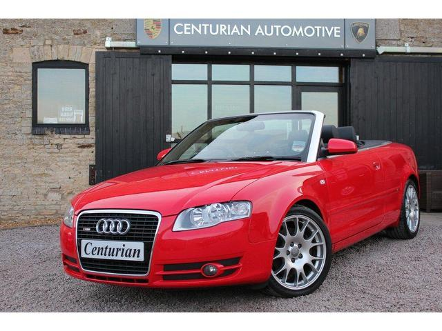 Used Cars Under 15000 >> Used Red Audi A4 2007 Petrol 3.2 Fsi Quattro S Convertible ...