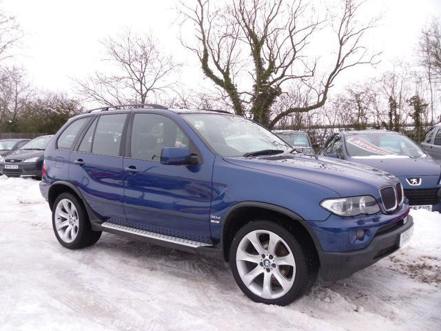 used 2006 bmw x5 4x4 blue edition sport exclusive diesel for sale in nuneaton uk autopazar. Black Bedroom Furniture Sets. Home Design Ideas