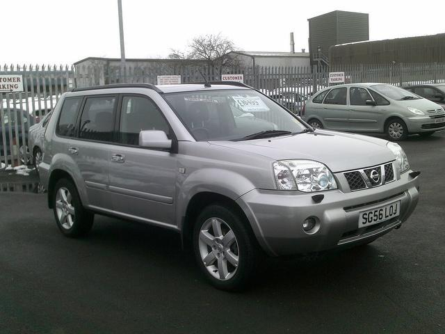 used nissan x trail 2006 silver paint diesel 2 2 dci 136 aventura 4x4 for sale in fengate uk. Black Bedroom Furniture Sets. Home Design Ideas
