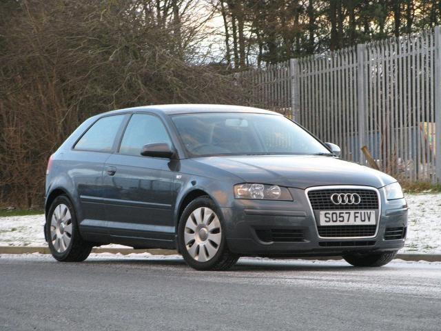 used audi a3 2008 manual diesel 1 9 tdi special edition grey for sale uk autopazar. Black Bedroom Furniture Sets. Home Design Ideas