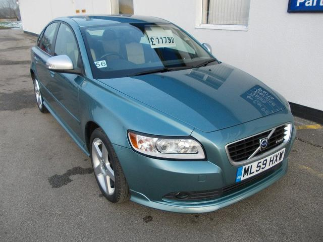 used volvo s40 2009 diesel 2.0d r design 4dr saloon blue edition