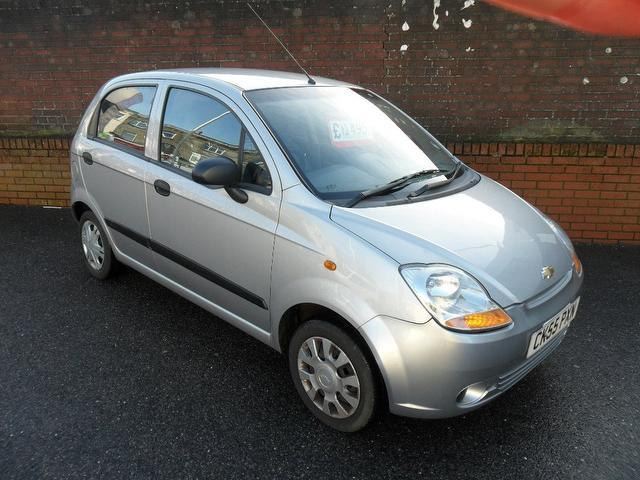 used 2005 chevrolet matiz hatchback silver edition 0 8 s 5dr xx petrol for sale in southampton