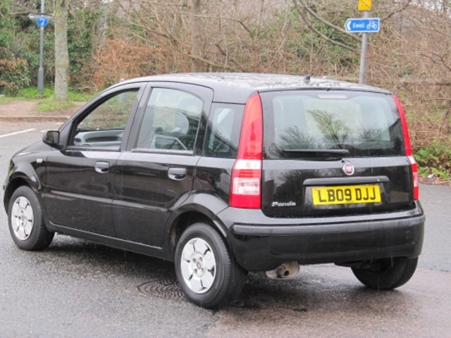 used black fiat panda 2009 petrol in great condition for sale