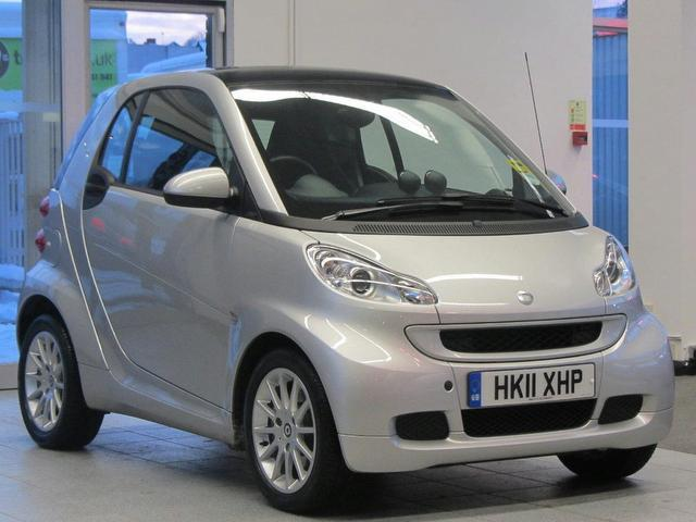 used smart fortwo 2011 petrol passion mhd 2dr softouch. Black Bedroom Furniture Sets. Home Design Ideas