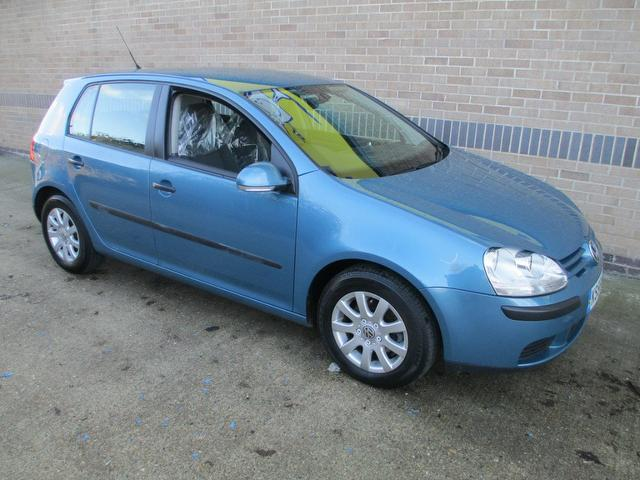 used volkswagen golf 2006 diesel 1 9 tdi se 5dr hatchback blue edition for sale in norwich uk. Black Bedroom Furniture Sets. Home Design Ideas
