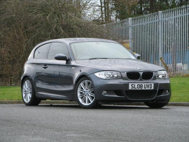 used bmw 1 series for sale in 2008 uk autopazar. Black Bedroom Furniture Sets. Home Design Ideas
