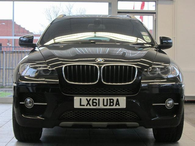 Used Bmw X6 Xdrive30d [245] Step Auto 4x4 Black 2011 Diesel for Sale in UK
