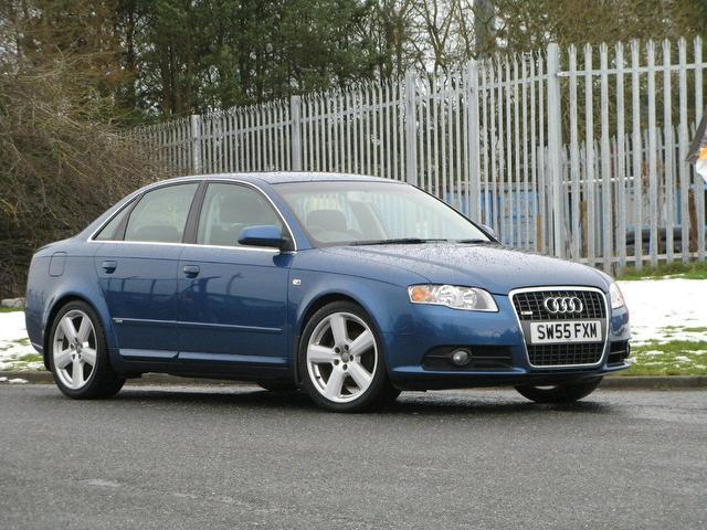 used audi a4 2006 blue colour diesel 2 0 tdi s line saloon. Black Bedroom Furniture Sets. Home Design Ideas