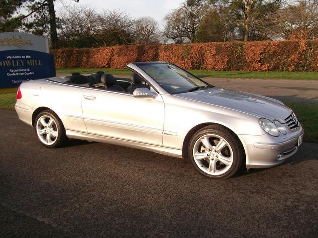 Used Mercedes Benz 2004 Silver Convertible Petrol Automatic for Sale