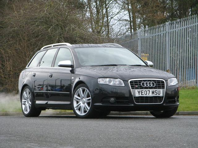 used audi s4 2007 manual petrol quattro 5 door 4 2 black for sale uk autopazar. Black Bedroom Furniture Sets. Home Design Ideas
