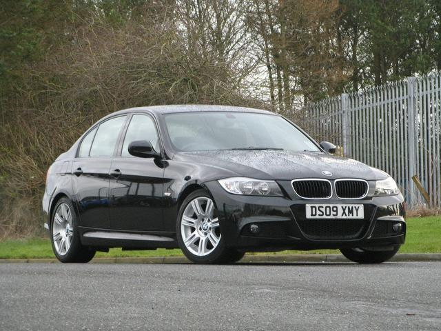 Used Bmw 3 Series 2009 Petrol 320i M Sport Saloon Black Edition For ...