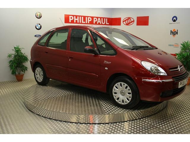 used red citroen xsara 2008 petrol picasso 16v desire. Black Bedroom Furniture Sets. Home Design Ideas