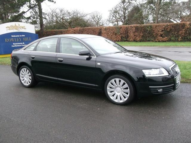 used audi a6 2008 black colour diesel 2 0 tdi tdv limited saloon for sale in newmarket uk. Black Bedroom Furniture Sets. Home Design Ideas