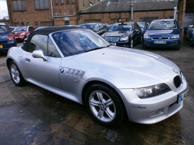 Bmw 2 Door Convertible Used Bmw z3 2002 Silver