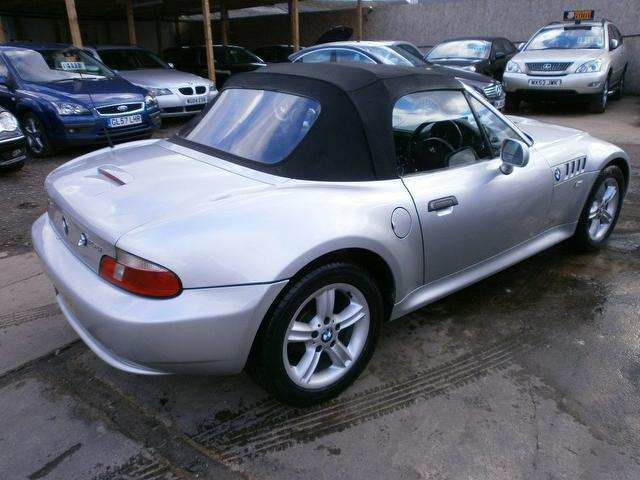2002 Bmw Z3 Silver 200 Interior And Exterior Images