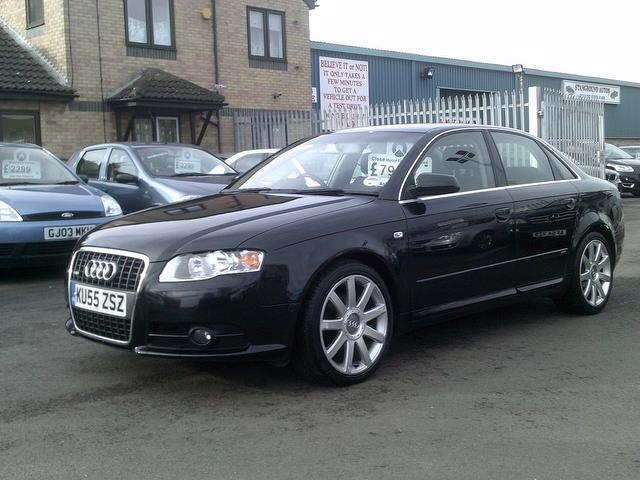 used 2005 audi a4 saloon 2 0 tdi s line diesel for sale in fengate uk autopazar. Black Bedroom Furniture Sets. Home Design Ideas